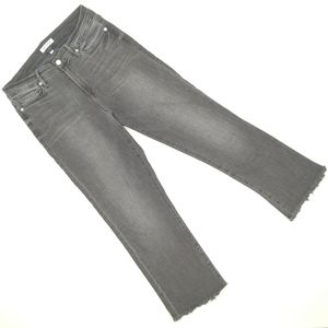 Good american distressed skinny jeans size 8/29
